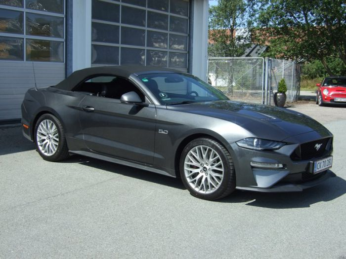 Ford Mustang 5,0 450HK GT Convertible