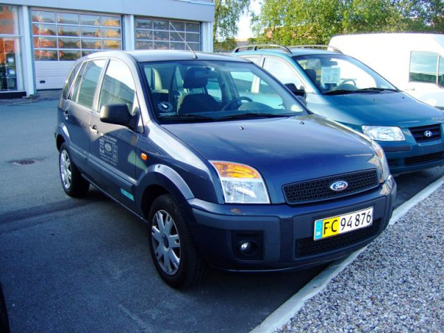 Ford Fusion 5dr 1.6i Trend Van
